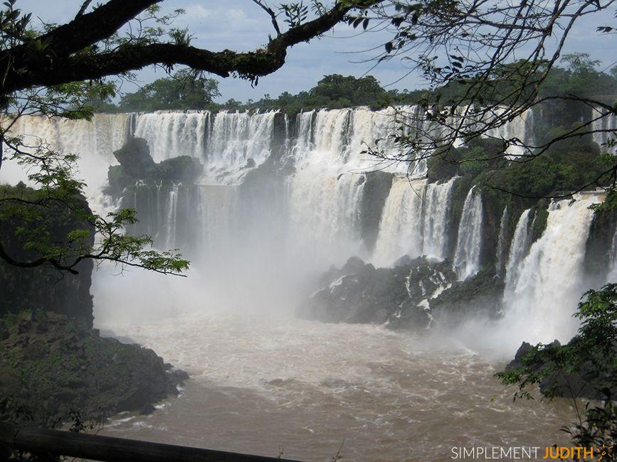 chutes Iguazù, Argentine