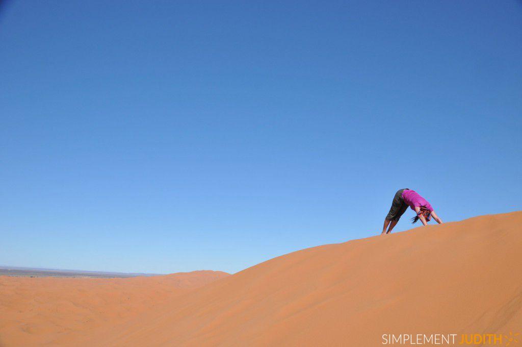 desert Erg Chebbi Ju yoga