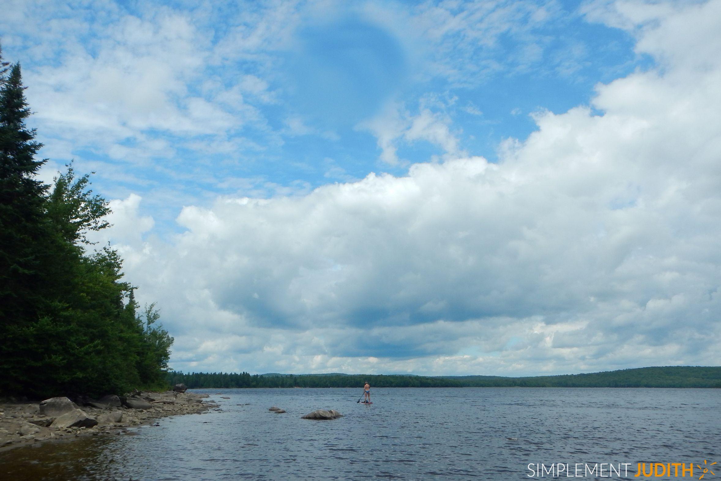Marcher sur l 39 eau parc national de frontenac cantons for Parc sauvage 78